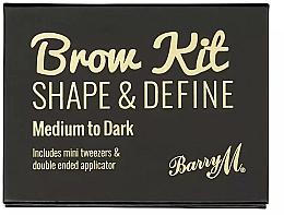 Парфюмерия и Козметика Комплект за вежди - Barry M Brow Kit