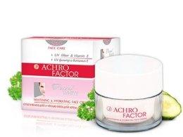 Парфюми, Парфюмерия, козметика Избелващ и овлажняващ крем за лице 2в1 - Sts Cosmetics Achro Factor Cream