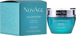 Парфюми, Парфюмерия, козметика Нощен обновяващ крем-балсам - Oriflame NovAge True Perfection Night Cream
