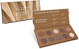 Парфюмерия и Козметика Палитра с пресовани сенки за вежди - Affect Cosmetics Color Brow Collection