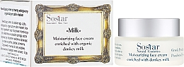 Парфюмерия и Козметика Хидратиращ крем за лице - Sostar Moisturizing Face Cream Enriched With Donkey Milk