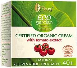 Парфюми, Парфюмерия, козметика Крем за лице с екстракт от домат 40+ - Ava Laboratorium Eco Garden Certified Organic Cream With Tomato