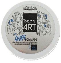 Парфюми, Парфюмерия, козметика Моделираща паста за фиксиране на мъжка коса - L'Oreal Professionnel Tecni.art Stiff Pommade 5 Force