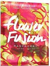 Парфюмерия и Козметика Освежаваща маска за лице с екстракт от малина - Origins Flower Fusion Raspberry Refreshing Sheet Mask