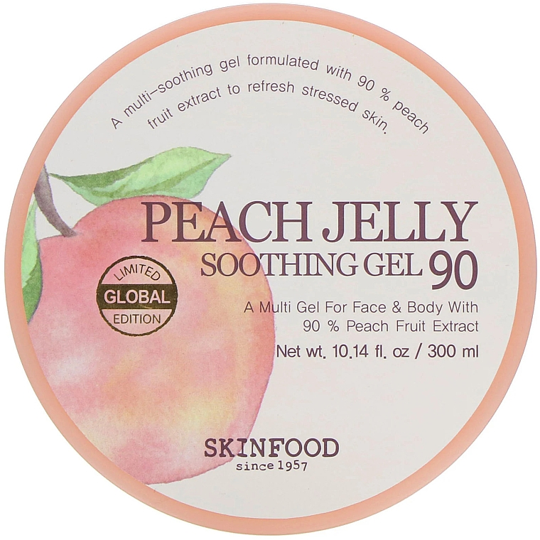 Успокояващ гел за тяло - Skinfood Peach Jelly Soothing Gel