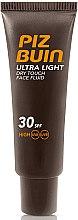 Парфюмерия и Козметика Флуид за лице - Piz Buin Ultra Light Dry Touch SPF30