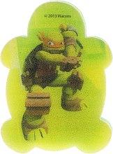 """Парфюмерия и Козметика Детска гъба за баня """"Костенурките нинджа"""" Микеланджело 1 - Suavipiel Turtles Bath Sponge"""