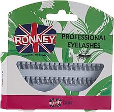 Парфюмерия и Козметика Комплект мигли на снопчета, 10,12,14 мм - Ronney Professional Eyelashes 00034