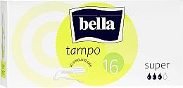Парфюмерия и Козметика Дамски тампони, 16 бр. - Bella Bella Premium Comfort Super Tampo