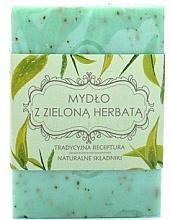 """Парфюмерия и Козметика Сапун """"Зелен чай"""" - Scandia Cosmetics"""