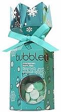 Парфюми, Парфюмерия, козметика Комплект за вана с аромат на марокански чай с мента - Bubble T Bath Fizzy Moroccan Mint Tea (бомбичка/100g+конфети/25g)