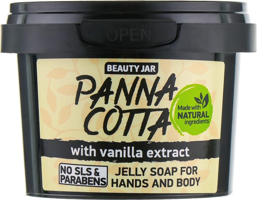 """Желе сапун за ръце и тяло с екстракт от ванилия """"Panna Cotta"""" - Beauty Jar Jelly Soap For Hands And Body — снимка N2"""