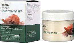 Парфюми, Парфюмерия, козметика Дневен крем против бръчки - Tolpa Green Firming 40+ Rejuvenating Anti-Wrinkle Day Cream
