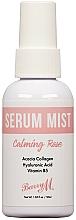 Парфюмерия и Козметика Спрей серум за лице с роза - Barry M Serum Mist Calming Rose Facial Lotion and Spray