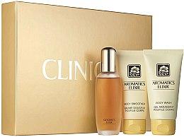 Парфюми, Парфюмерия, козметика Clinique Aromatics Elixir Essentials Set - Комплект (парф. вода/45ml + душ гел/75ml + лосион за тяло/75ml)