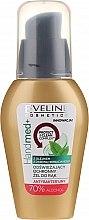 Парфюмерия и Козметика Антибактериален гел за ръце с масло от чаено дърво, 70% спирт - Eveline Cosmetics Handmed+, 70% Alcohol