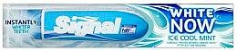 Парфюми, Парфюмерия, козметика Избелваща паста за зъби - Signal Now White Ice Cool Mint Toothpaste