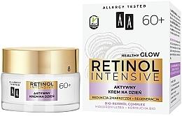 Парфюмерия и Козметика Активен възстановяващ дневен крем за лице против бръчки - AA Retinol Intensive 60+ Cream
