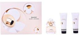 Парфюми, Парфюмерия, козметика Marc Jacobs Daisy - Комплект (edt 50ml + b/lol 75ml + sh/g 75ml)