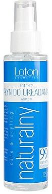 Натурален продукт за оформяне на косата - Loton 2 Hair Styling Liquid