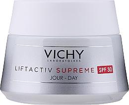 Парфюмерия и Козметика Крем-грижа за лице против бръчки SPF 30 - Vichy Liftactiv Supreme Intensive Anti-Wrinkle Day Cream SPF30