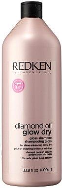 Шампоан придаващ блясък на косата - Redken Diamond Oil Glow Dry — снимка N1