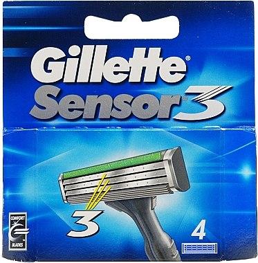 Сменяеми ножчета за бръснене - Gillette Sensor 3 — снимка N1