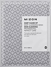 Парфюмерия и Козметика Почистваща памучна маска за лице - Mizon Dust Clean Up Deep Cleansing Mask