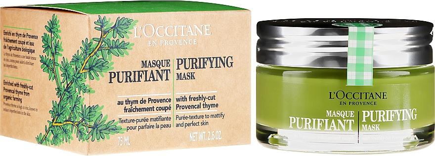 Почистваща маска за лице - L'Occitane Purifying Mask — снимка N1