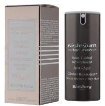 Парфюми, Парфюмерия, козметика Мъжки крем за лице - Sisley Sisleyum For Men Anti-Age Global Revitalizer Dry Skin
