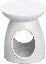 Парфюмерия и Козметика Арома лампа, бяла - Bolsius Ceramic Classic Wax Melt Burner