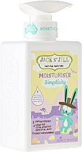 Парфюми, Парфюмерия, козметика Детско мляко за тяло - Jack N' Jill Moisturiser Simplicity