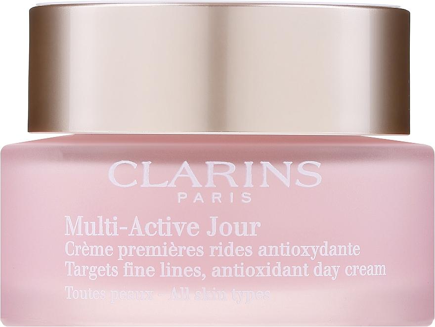 Дневен крем за всеки тип кожа - Clarins Multi Active Antioxidant Day Cream All Skin Type
