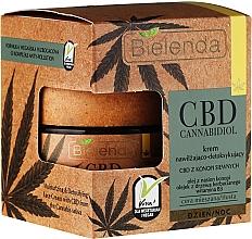 Парфюмерия и Козметика Детоксикиращ крем за лице - Bielenda CBD Cannabidiol Cream