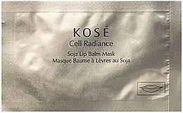 Парфюмерия и Козметика Балсам-маска за устни - Kose Cell Radiance Soja Lip Balm Mask
