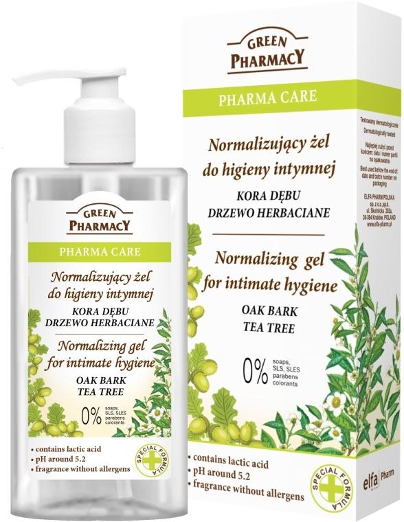 Гел за интимна хигиена - Green Pharmacy Normalizing Gel