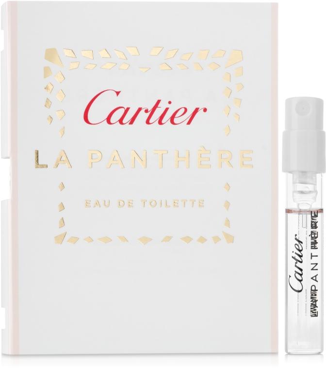 Cartier La Panthere Eau de Toilette - Тоалетна вода (мостра)