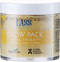 Парфюми, Парфюмерия, козметика Почистваща маска за лице - Lass Naturals Glow Pack Facial Therapy
