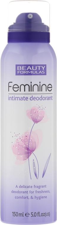 Дезодорант за интимна хигиена - Beauty Formulas Feminine Intimate Deodorant
