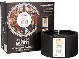 Парфюми, Парфюмерия, козметика Ароматна свещ - House of Glam Frankincense Myrrh Candle