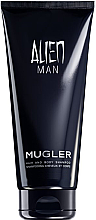 Парфюми, Парфюмерия, козметика Mugler Alien Man - Шампоан-душ гел