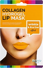 Парфюмерия и Козметика Колагенова маска за устни - Beauty Face Collagen Hydrogel Lip Mask Wrinkle Smooth Effect