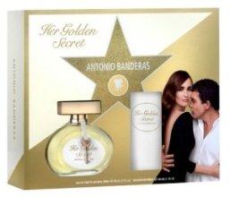 Парфюми, Парфюмерия, козметика Antonio Banderas Her Golden Secret - Комплект