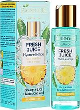 Парфюмерия и Козметика Хидро есенция за сияйна кожа - Bielenda Fresh Juice Brightening Hydro Essence Pineapple