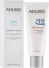 Парфюми, Парфюмерия, козметика Антиоксидантен крем за лице с екстракт от червени плодове - Anubis Spa Red Fruit Cream