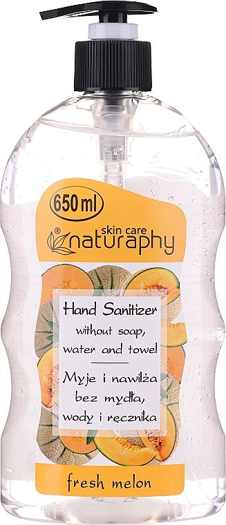 Дезинфекциращ гел за ръце с аромат на диня - Bluxcosmetics Naturaphy Alcohol Hand Sanitizer With Fresh Melon Fragrance