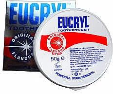 Парфюми, Парфюмерия, козметика Прах за зъби - Eucryl Toothpowder Original