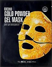 Парфюмерия и Козметика Хидрогелна маска за лице със златни частици - The Orchid Skin Gold Powder Gel Mask