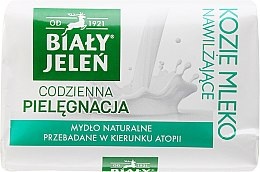 Парфюми, Парфюмерия, козметика Хипоалергенен сапун с козе мляко - Bialy Jelen Hypoallergenic Soap With Goat Milk