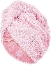 Парфюмерия и Козметика Кърпа-тюрбан за коса, пепел от рози - MakeUp